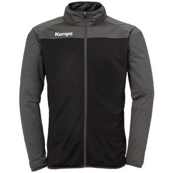 Textil Chlapecké Bundy Kempa Veste  Prime Poly noir/gris anthracite