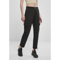 Textil Ženy Cargo trousers  Urban Classics Pantalon femme  cargo terry noir