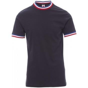 Textil Muži Trička s krátkým rukávem Payper Wear T-shirt Payper Flag bleu roi/italie