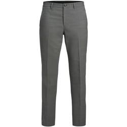 Textil Muži Mrkváče Jack & Jones Pantalon  Solaris gris clair