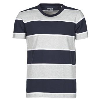 Textil Muži Trička s krátkým rukávem Esprit T-SHIRTS Modrá