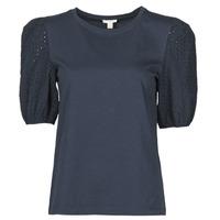 Textil Ženy Trička s krátkým rukávem Esprit T-SHIRTS Černá