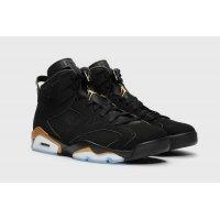 Boty Kotníkové tenisky Nike Air Jordan 6 DMP Black / Metallic Gold