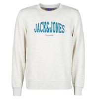 Textil Muži Mikiny Jack & Jones JORHART Bílá