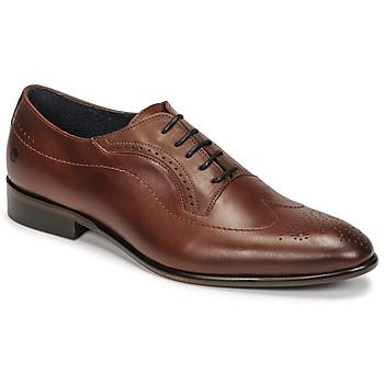 Boty Muži Šněrovací společenská obuv Carlington OULIO Zlatohnědá
