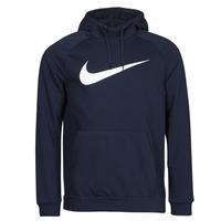 Textil Muži Mikiny Nike DF HDIE PO SWSH Modrá / Bílá