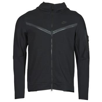 Textil Muži Teplákové bundy Nike NSTCH FLC HOODIE FZ WR Černá