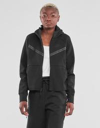 Textil Ženy Teplákové bundy Nike NSTCH FLC WR ESSNTL FZ HDY Černá