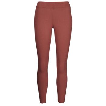 Textil Ženy Legíny Nike NSESSNTL 7/8 MR LGGNG Hnědá / Bílá