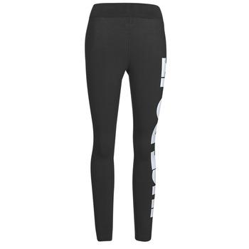 Textil Ženy Legíny Nike NSESSNTL GX HR LGGNG JDI Černá / Bílá