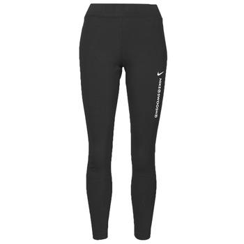 Textil Ženy Legíny Nike NSSWSH LGGNG HR Černá / Bílá