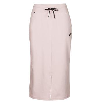 Textil Ženy Sukně Nike NSTCH FLC SKIRT Béžová / Černá