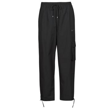 Textil Ženy Teplákové kalhoty Nike NSICN CLASH PANT CANVAS HR Černá / Šedá