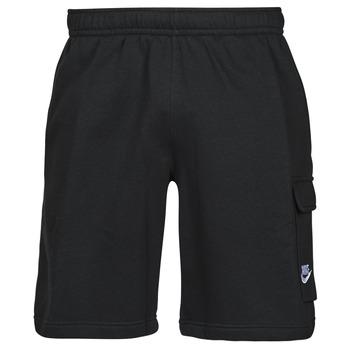 Textil Muži Kraťasy / Bermudy Nike NSCLUB BB CARGO SHORT Černá