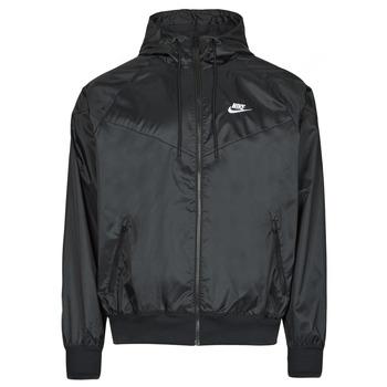 Textil Muži Větrovky Nike NSSPE WVN LND WR HD JKT Černá / Bílá