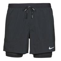 Textil Muži Kraťasy / Bermudy Nike DF FLX STRD 2IN1 SHRT 5IN Černá