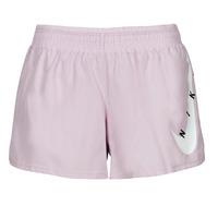 Textil Ženy Kraťasy / Bermudy Nike SWOOSH RUN SHORT Fialová / Bílá