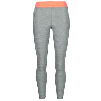 Textil Ženy Legíny Nike NIKE PRO TIGHT 7/8 FEMME NVLTY PP2 Šedá / Oranžová / Bílá