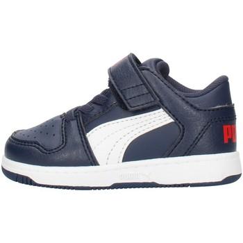 Boty Chlapecké Nízké tenisky Puma 371470 Modrá
