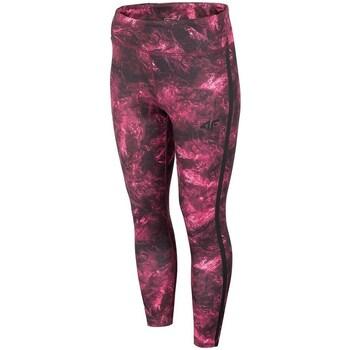Textil Ženy Kalhoty 4F SPDF010 Vínově červené