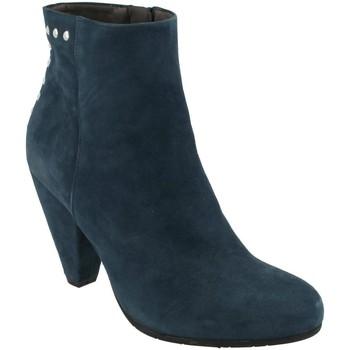 Boty Ženy Polokozačky She - He  Azul
