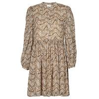 Textil Ženy Krátké šaty Vila VISUNARA Béžová