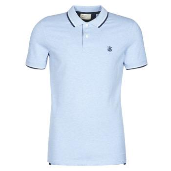 Textil Muži Polo s krátkými rukávy Selected SLHNEWSEASON Modrá / Světlá