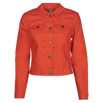Textil Ženy Riflové bundy Noisy May NMDEBRA Červená