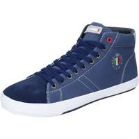Boty Muži Kotníkové tenisky Armata Di Mare Sneakers Tela Camoscio Blu