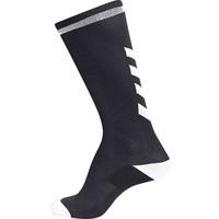 Doplňky  Děti Ponožky Hummel Chaussettes  elite indoor high noir/blanc