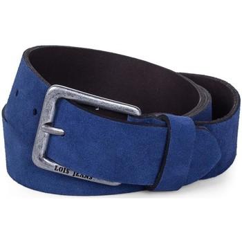 Textilní doplňky Pásky Lois Velvet dámský pás Modré