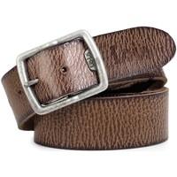 Textilní doplňky Muži Pásky Lois Cracked leather Brown