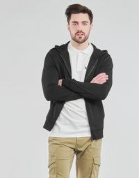 Textil Muži Mikiny Jack & Jones JJEBASIC Černá
