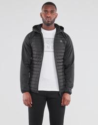Textil Muži Prošívané bundy Jack & Jones JJEMULTI Černá
