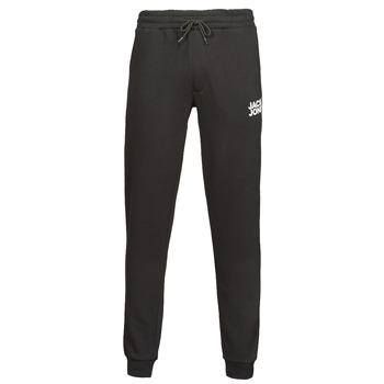 Textil Muži Teplákové kalhoty Jack & Jones JJIGORDON Černá