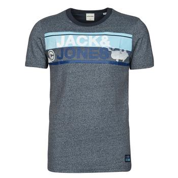 Textil Muži Trička s krátkým rukávem Jack & Jones JCONICCO Tmavě modrá