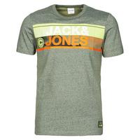 Textil Muži Trička s krátkým rukávem Jack & Jones JCONICCO Khaki
