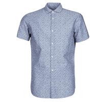 Textil Muži Košile s krátkými rukávy Jack & Jones JPRBLASUMMER Modrá