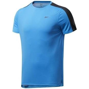 Textil Muži Trička s krátkým rukávem Reebok Sport Wor SS Tech Tee Modré