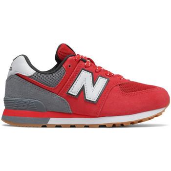 Boty Děti Nízké tenisky New Balance Pc574 m Červená