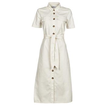 Textil Ženy Společenské šaty Betty London ODRESS Krémově bílá