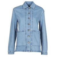 Textil Ženy Riflové bundy Betty London OVEST Modrá
