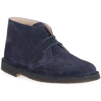 Boty Muži Kotníkové boty Isle BLU DESERT BOOT Blu