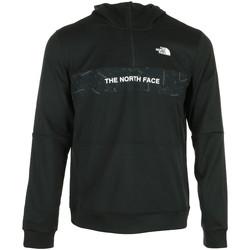 Textil Muži Teplákové bundy The North Face Train N Logo 1/4 Zip Černá