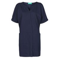 Textil Ženy Krátké šaty Benetton CAMILA Tmavě modrá
