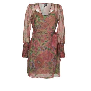 Textil Ženy Krátké šaty Vero Moda VMABELIA Zelená / Červená