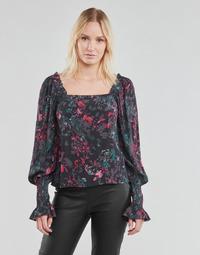 Textil Ženy Halenky / Blůzy Vero Moda VMJACKIE Tmavě modrá / Červená
