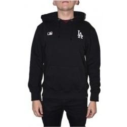 Textil Muži Mikiny 47 Brand MLB Los Angeles Dodgers Hoodie černá