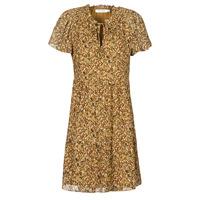 Textil Ženy Krátké šaty Naf Naf MARIA R1 Velbloudí hnědá