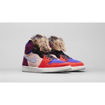 Boty Kotníkové tenisky Nike Air Jordan 1 High x Aleali May